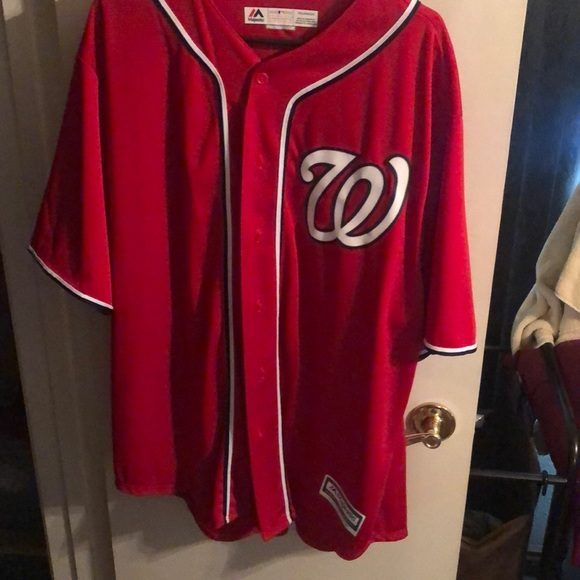 factory price 8839c 1b825 Bryce Harper nationals jersey